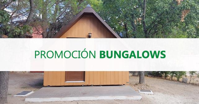 Promoción Bungalows meses de Mayo y Junio 2020
